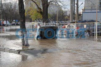 Потоп в Киеве, апрель 2013 года