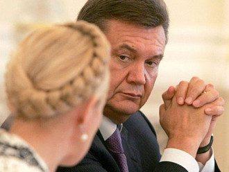 Юлия Тимошенко и Виктор Янукович
