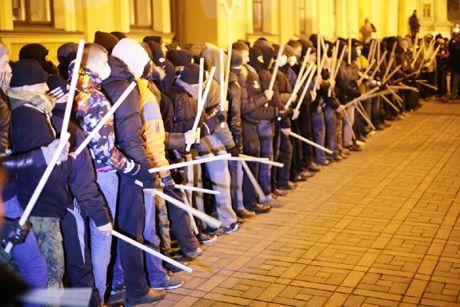 Отряд самообороны на Майдане