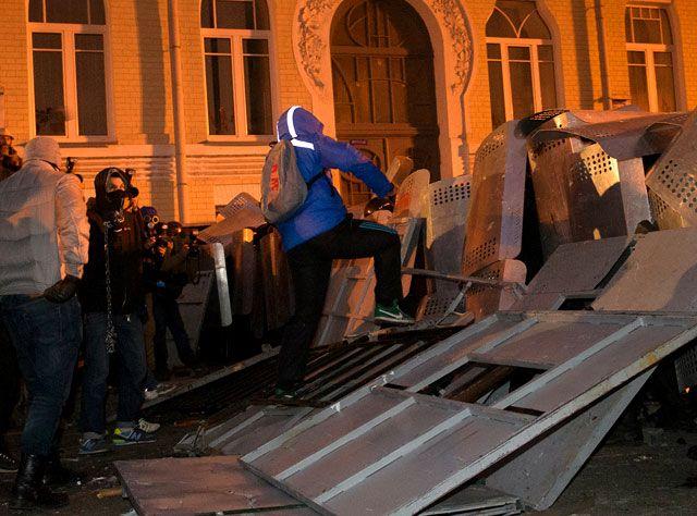 Фото, которым иллюстрируется сюжет про Евромайдан