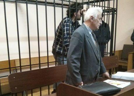 Ярослав Притуленко в зале суда