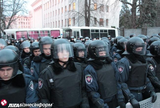 Акция Евромайдана на Банковой