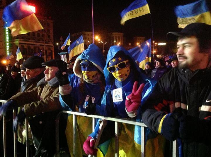 Евромайдан всю ночь ждал штурма