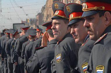 Российские полицейские, иллюстрация