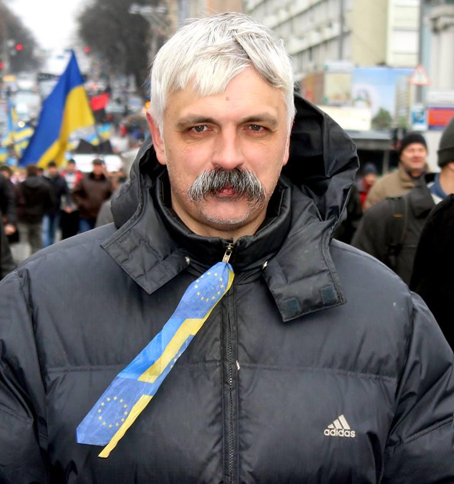 Лидер партии Братство Дмитрий Корчинский