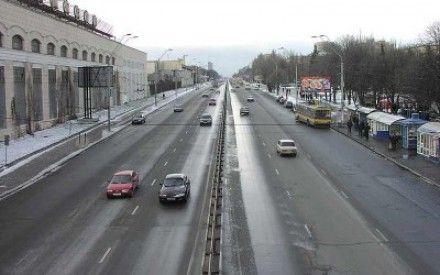 Первый этап реконструкции проспекта Победы уже завершен