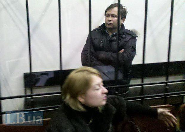 Андрей Дзиндзя в зале суда