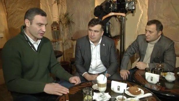 Михаил Саакашвили в Украине