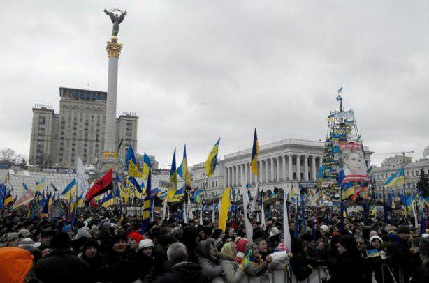 Одна из причин мобилизации - акции протеста в столице