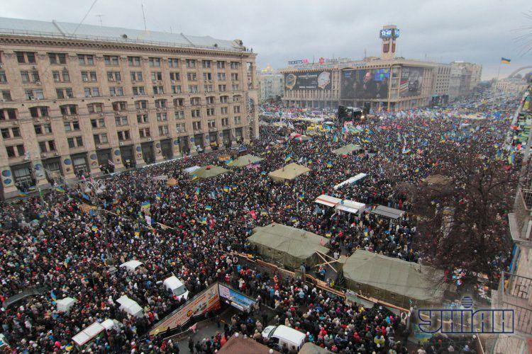 Марш миллиона в Киеве