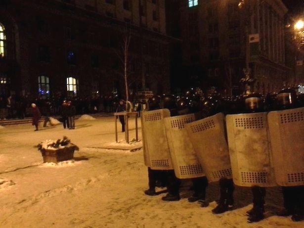 Киевсовет уже пережил один штурм