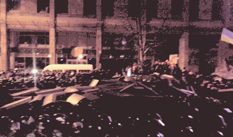 Штурм Дома профсоюзов в ночь на 11 декабря
