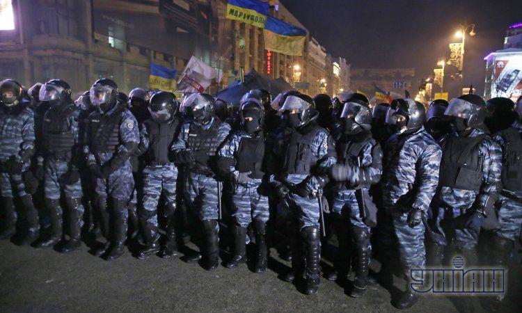 Разгон Майдана, иллюстрация
