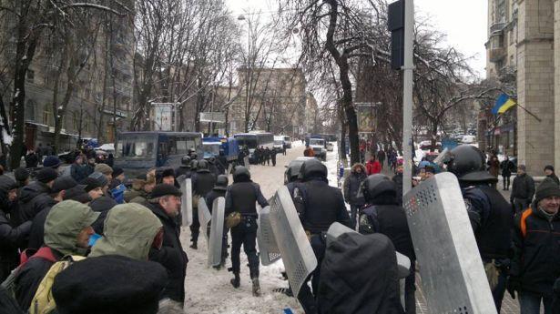 """""""Беркут"""" уходит с Майдана"""