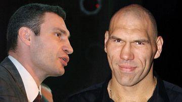 Виталий Кличко и  Николай Валуев
