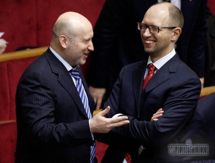 Турчинову и Яценюку грозит арест