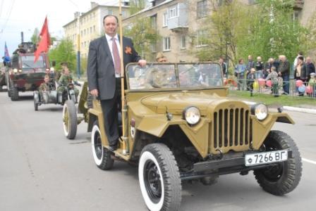 Владимир Струк на праздновании 9 мая