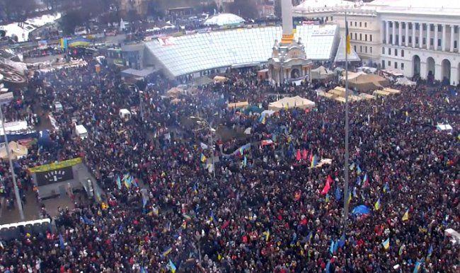 Евромайдан выдвинул требования к власти