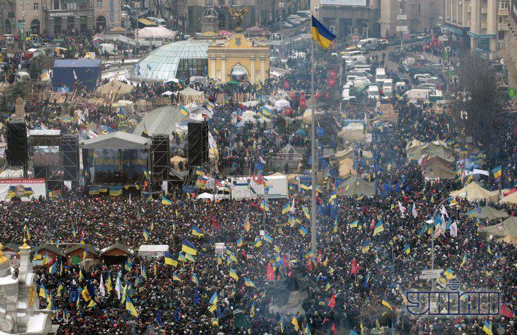 День достоинства на Майдане, 15 декабря