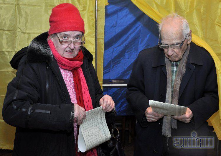 Фото с избирательного участка 15 декабря