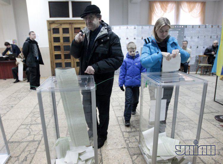 Выборы в Раду, иллюстрация