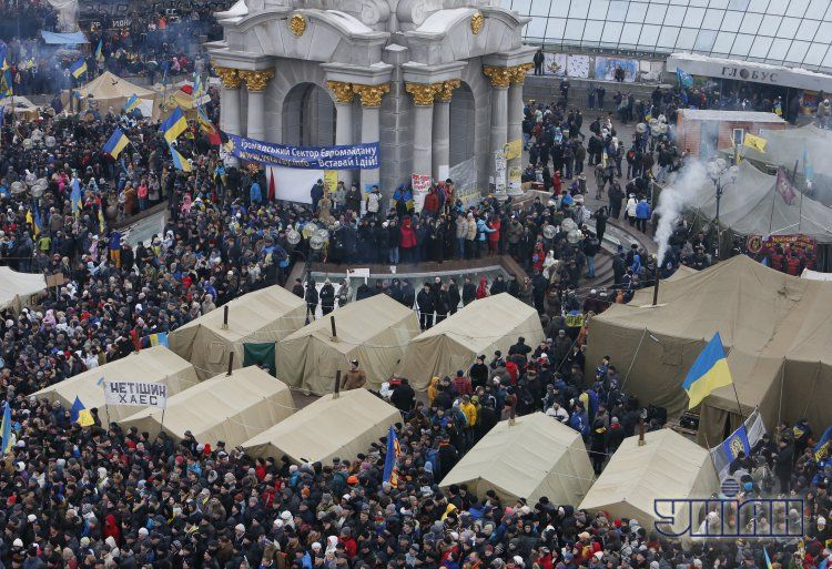 Майдан Независимости, 15 декабря
