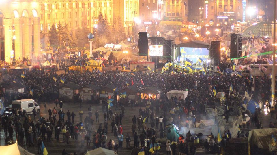 Ночь на Евромайдане, иллюстрация