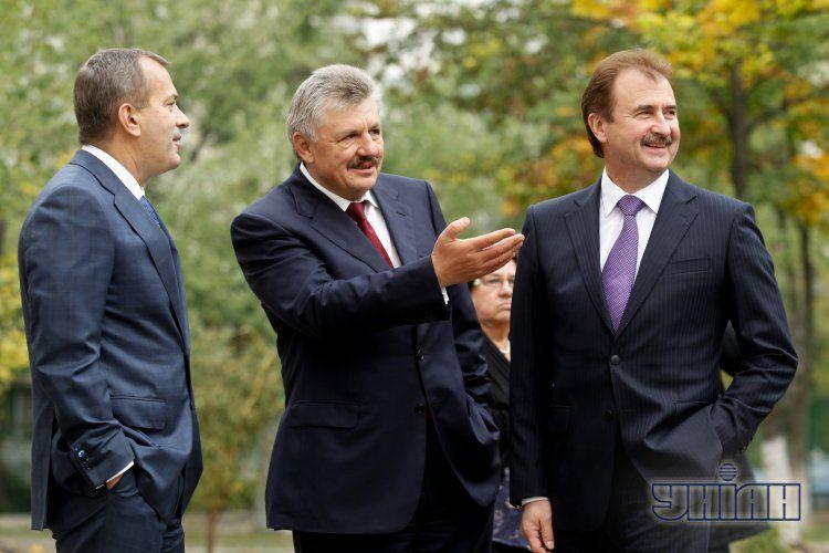 Александр Попов, Владимир Сивкович, Андрей Клюев