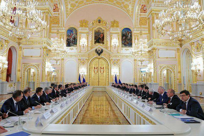 Заседание украинско-российской межгоскомиссии