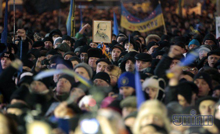Евромайдан, 17 декабря. Иллюстрация