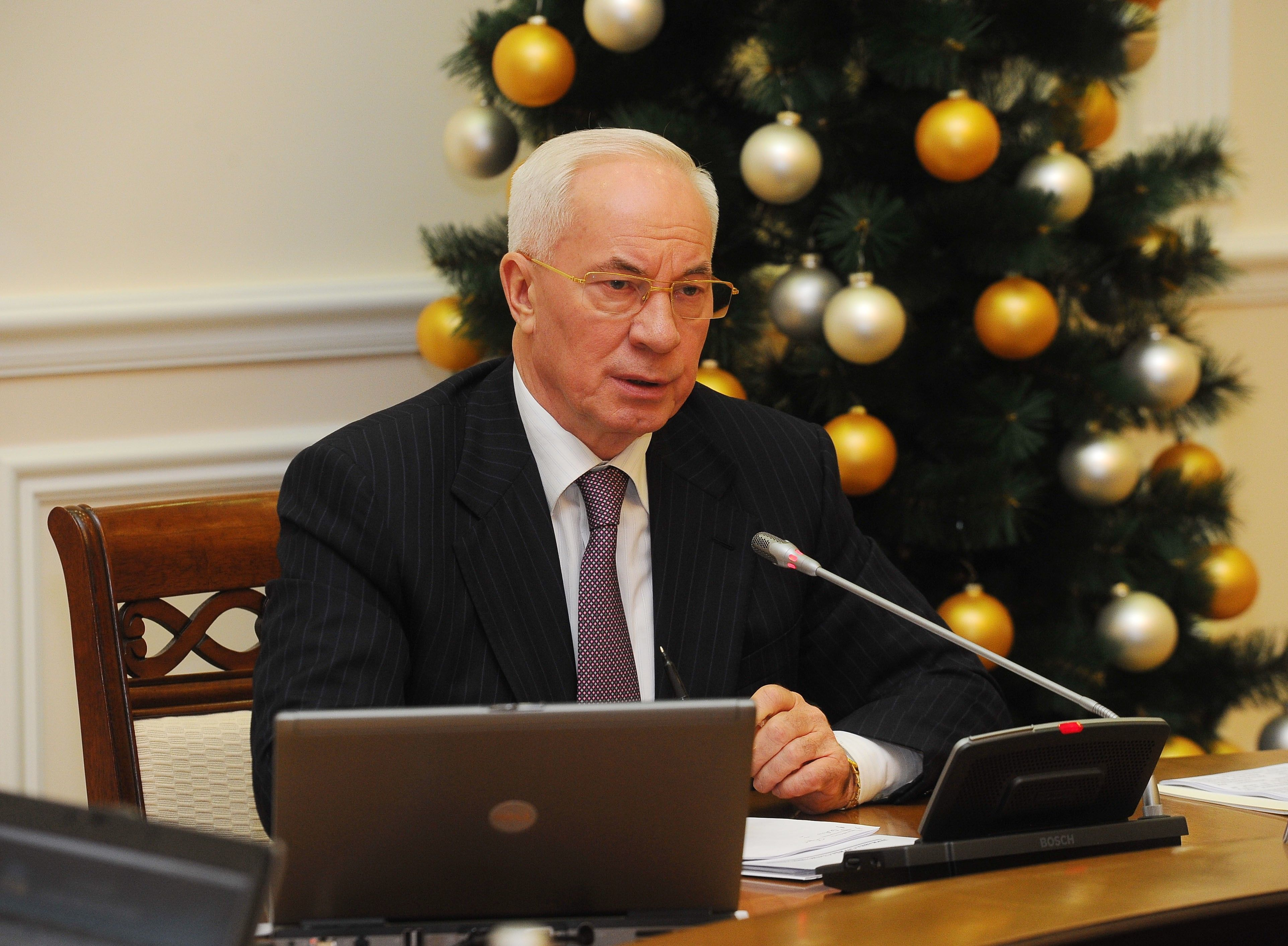 премьер Николай Азаров