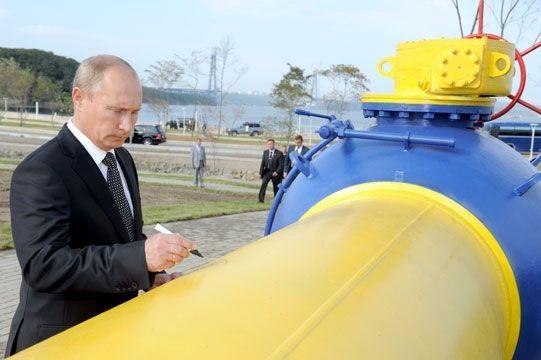 Путину не терпится продавать газ Украине