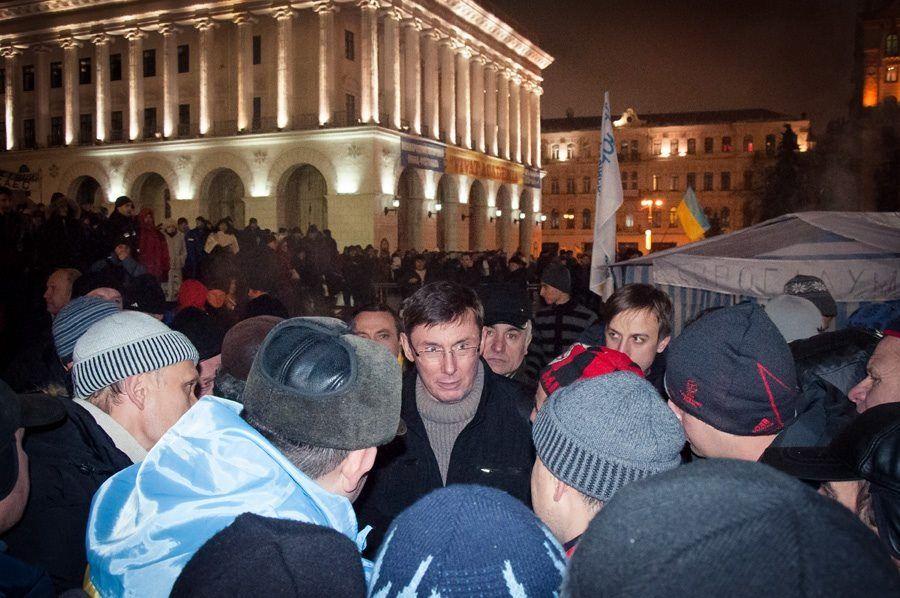 Луценко пообещал Майдану план наступления