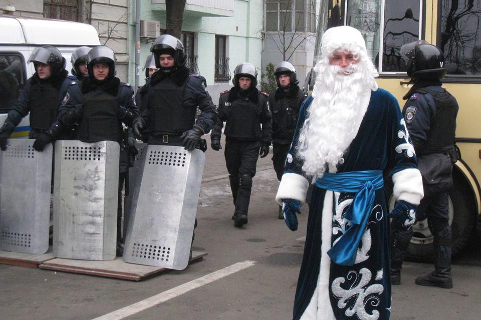 """Беркут"" и Дед Мороз"