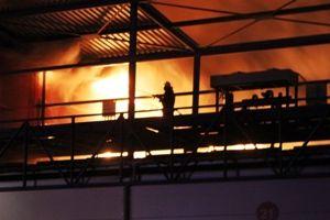 Жертвами пожара на рынке