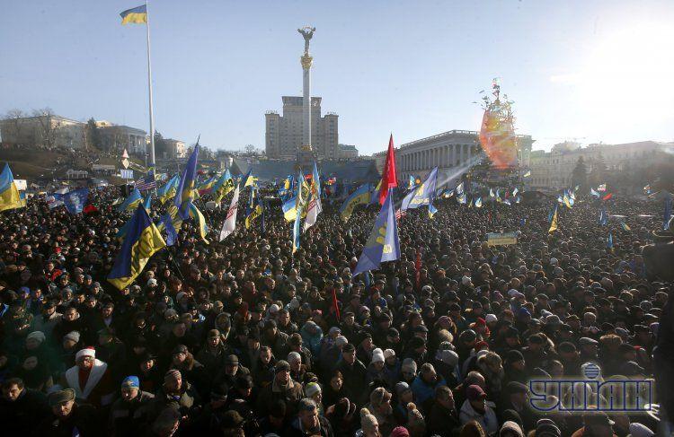 Майдан остается одной из главных политических интриг года