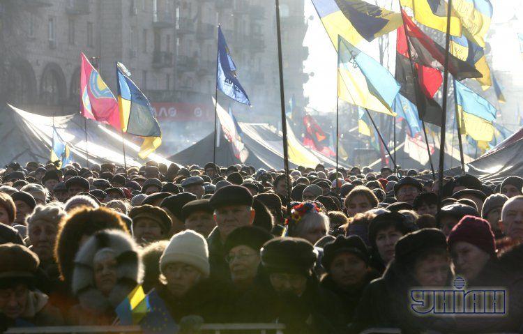 Иностранцев могут наказать за поддержку Майдана.