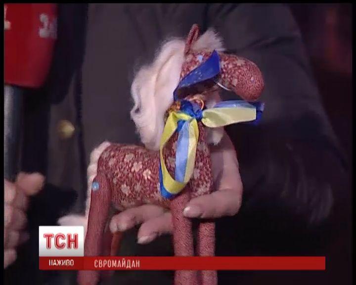 символ новогоднего Евромайдана