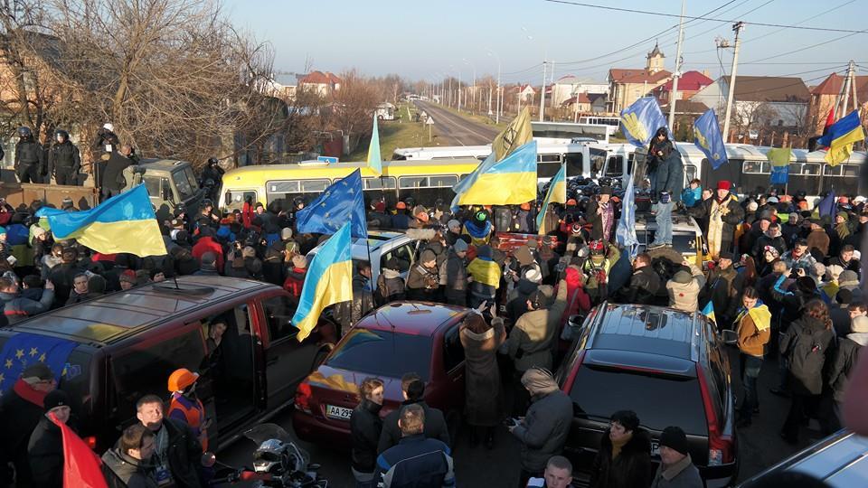 29 декабря Автомайдан приезжал в