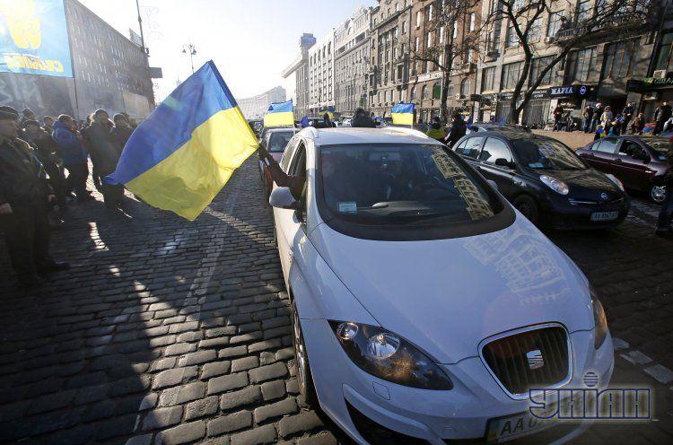 Автомайдан, 29 декабря