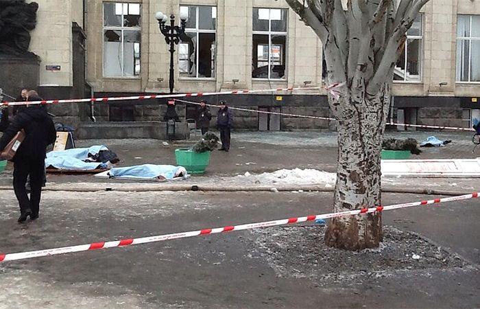 Фото с места теракта на волгоградском вокзале