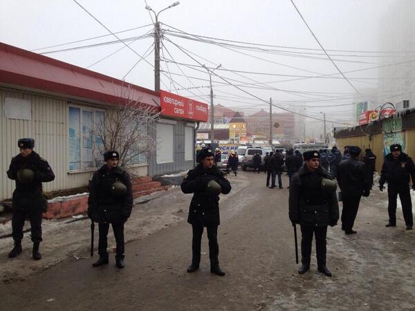 Фото с места теракта в Волгограде