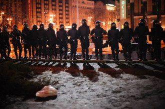 Разгон Евромайдана, 30 ноября, иллюстрация