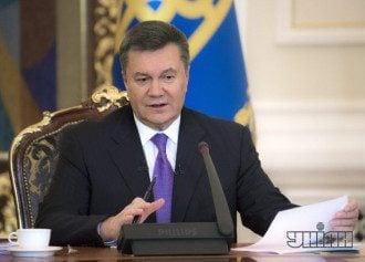 Виктор Янукович подписал скандальные законы