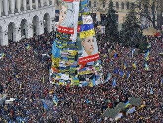 Елка на Майдане, иллюстрация