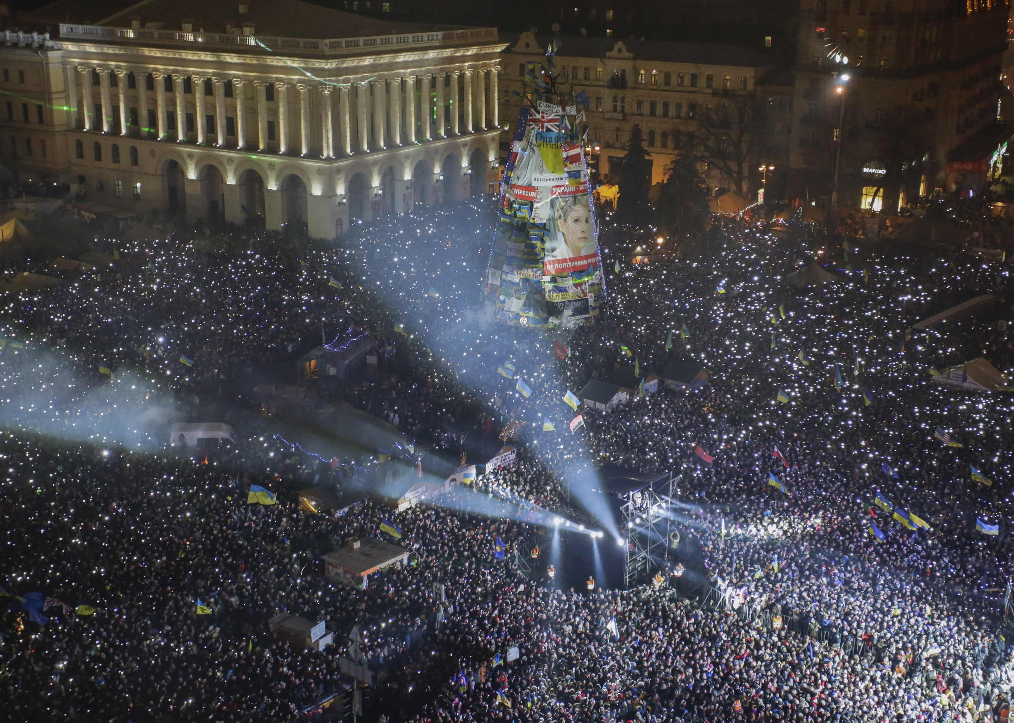 Будущее Майдана остается одной из главных политических интриг года