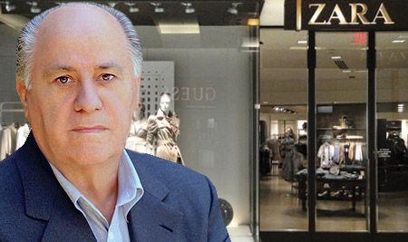Основатель торговой империи Inditex Амансио Ортеге