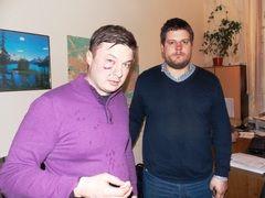 Ильенко и Кизин после избиения