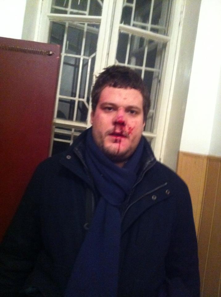 Андрей Ильенко после избиения