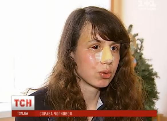 Журналистка Татьяна Чорновол